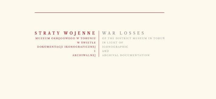 Straty wojenne Muzeum Okręgowego – E-BOOK DO POBRANIA!