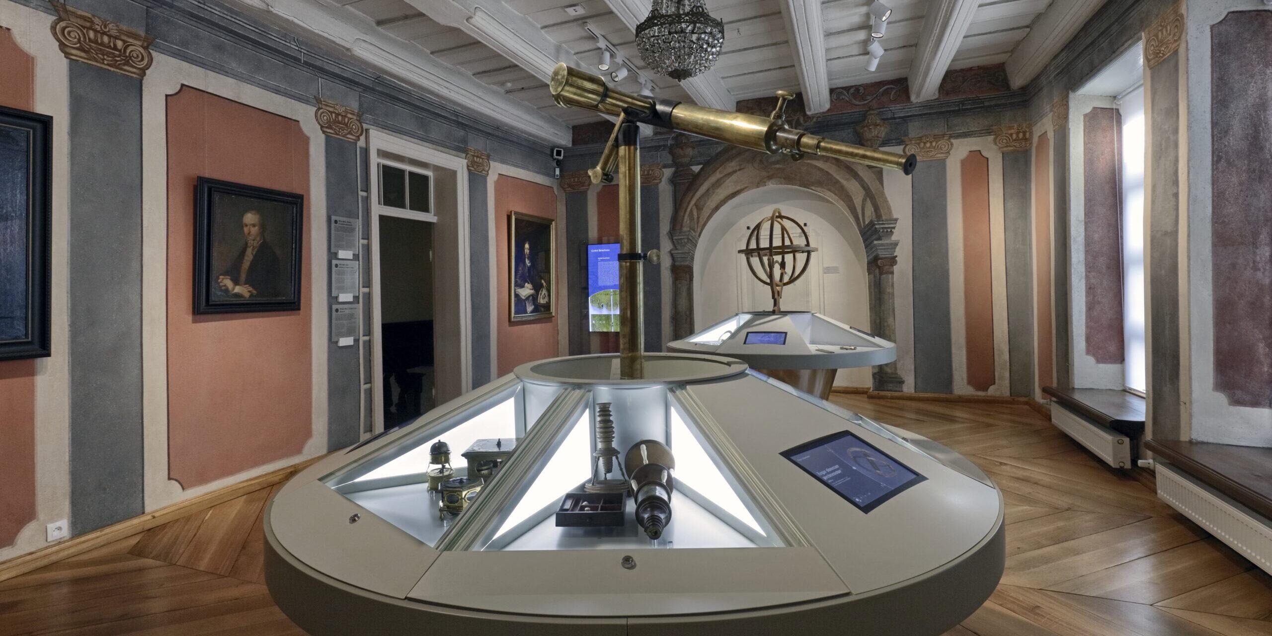Prace konserwatorskie w Domu Kopernika wraz z modernizacją wystawy