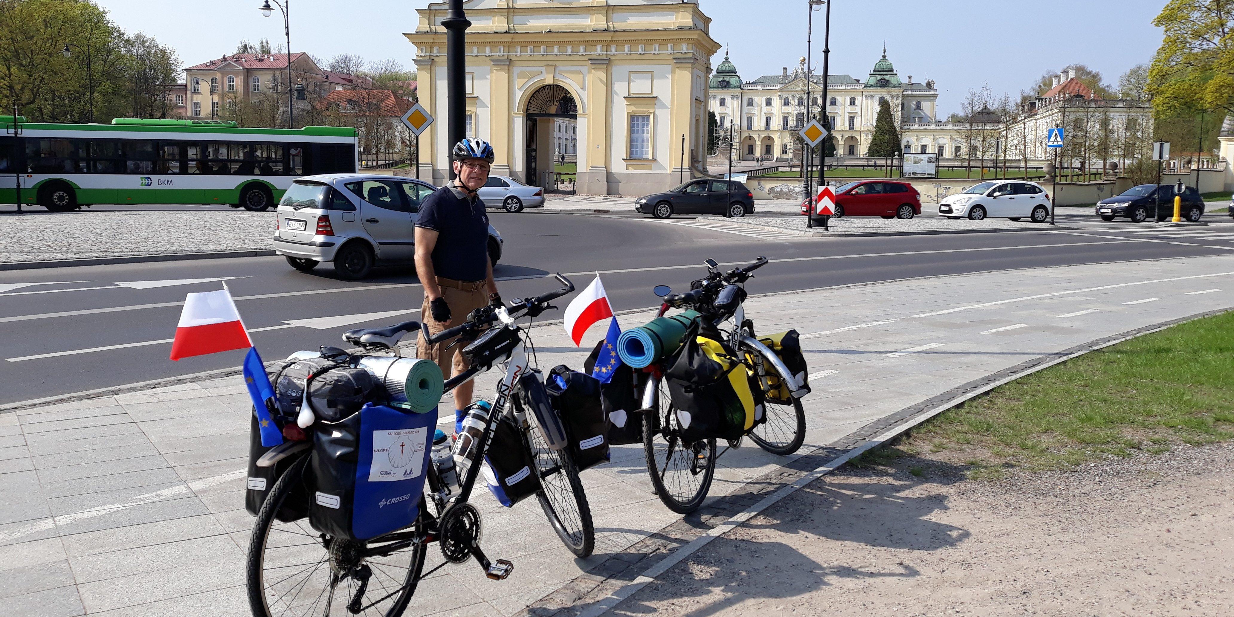 """Spotkanie """"Bicyklami z Białegostoku do Santiago de Compostela"""""""