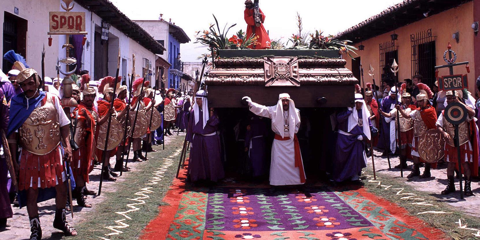 Jak świętuje się Wielki Tydzień w Gwatemali