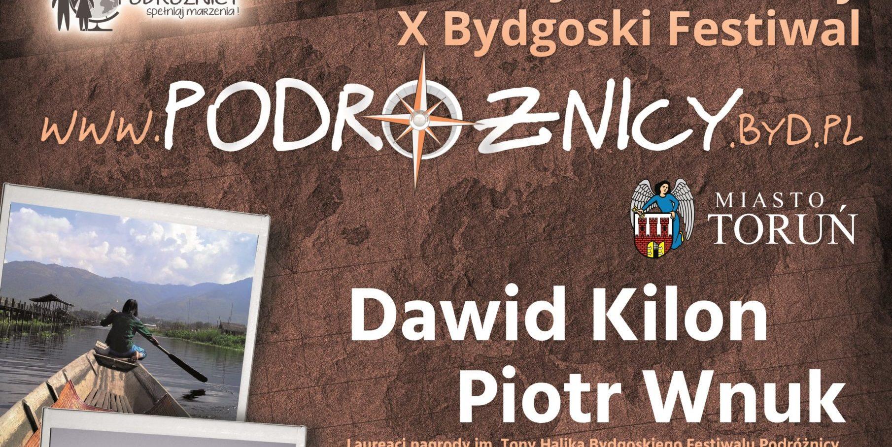 """X Bydgoski Festiwal """"Podróżnicy"""""""