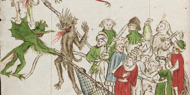 Diabeł, czarny pies i egzorcysta – opowieści o dawnym Toruniu
