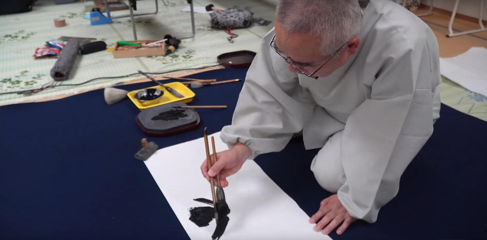 """Film """"Shodo – kaligrafia japońska"""" z nagrodą na festiwalu FilmAT"""
