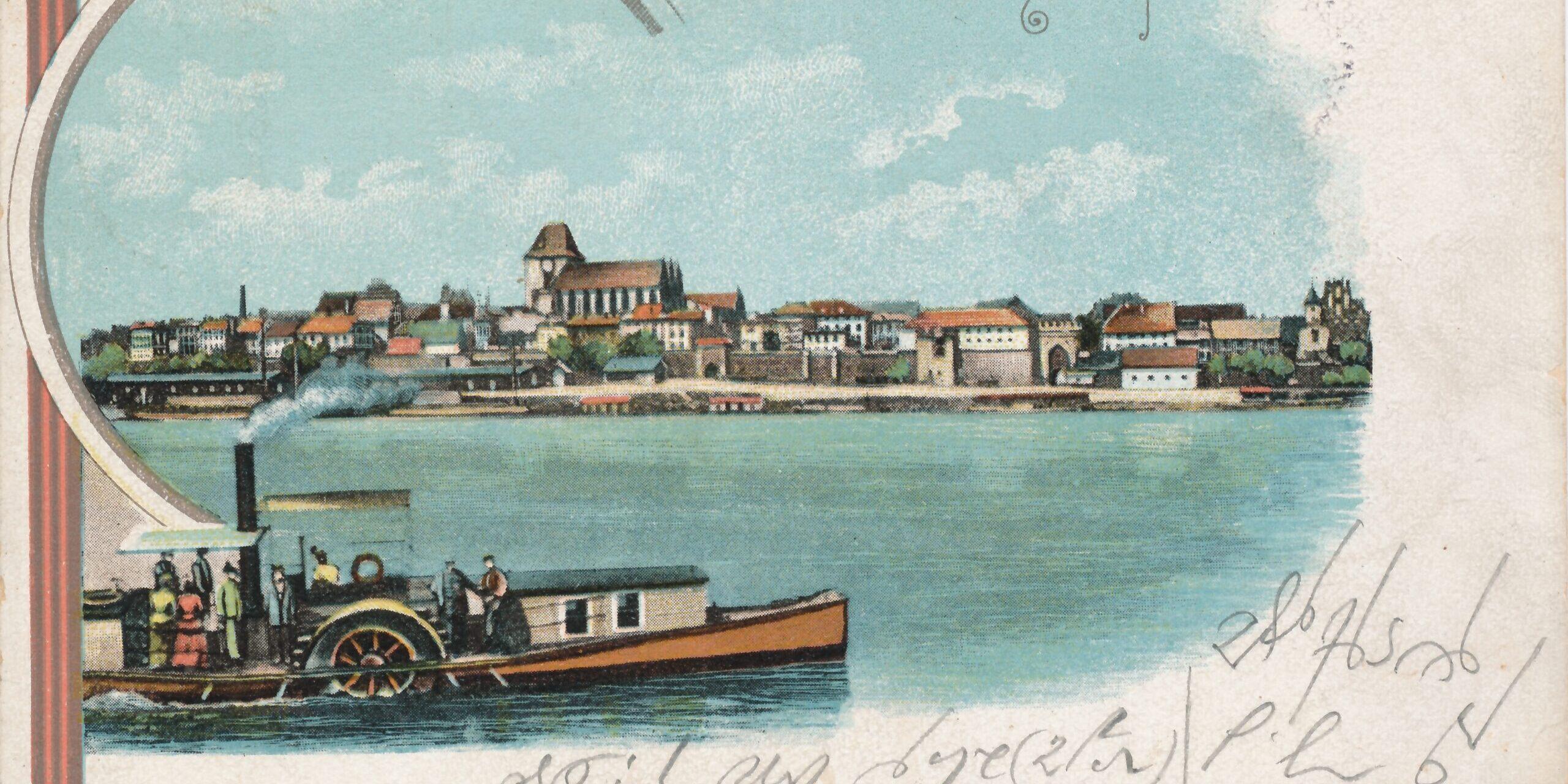 Toruńskie drogi na muzealnej pocztówce
