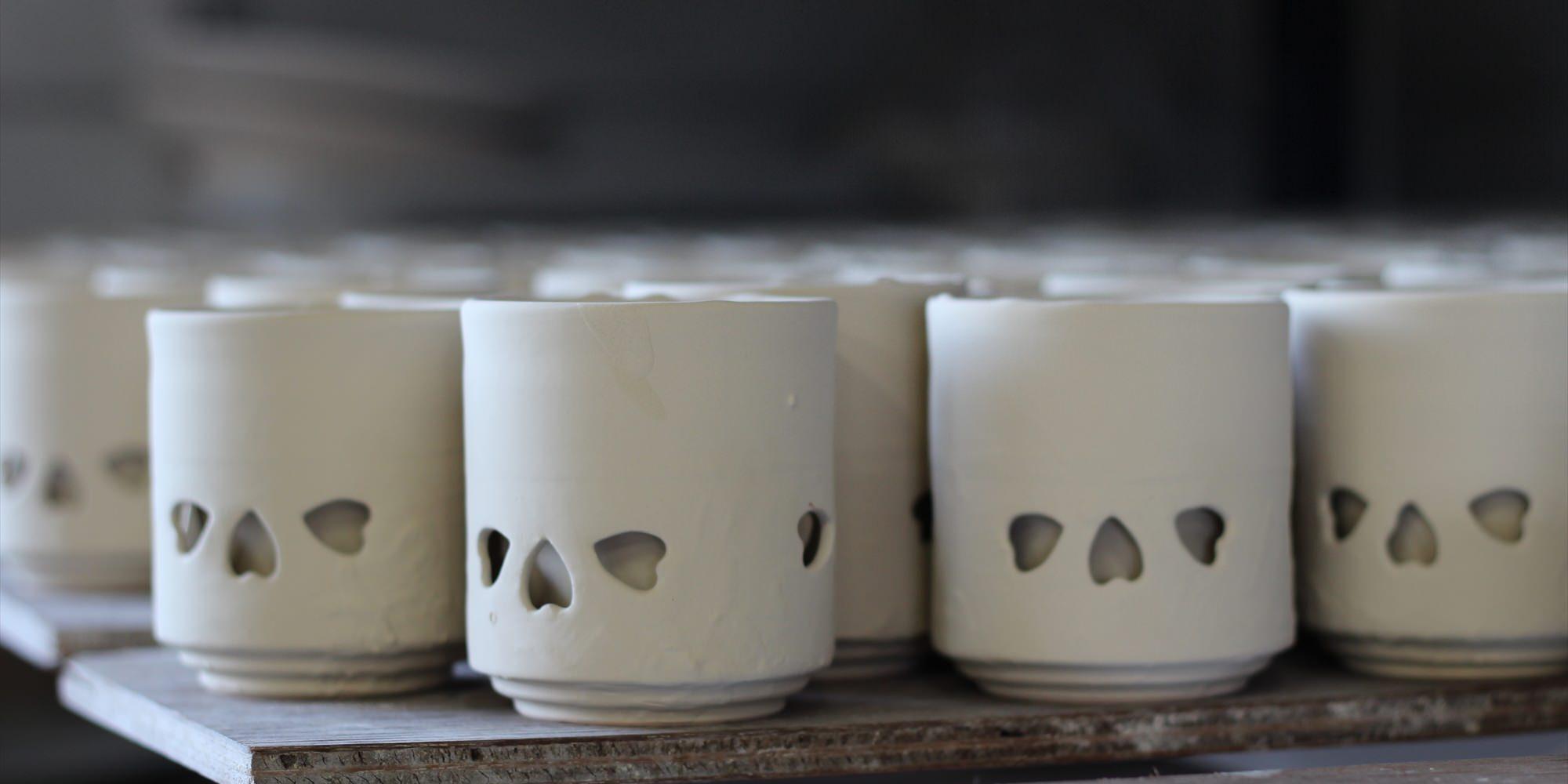 Czarka do herbaty typu obori soma-yaki