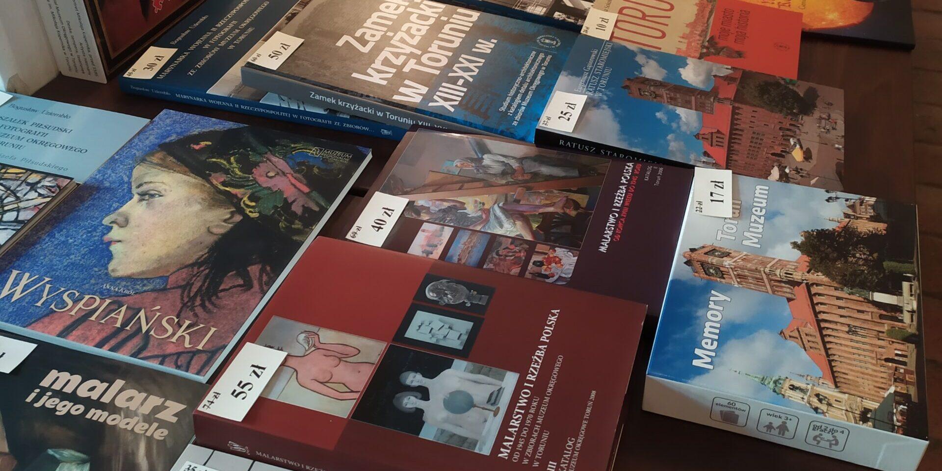 Kiermasz książek podczas Nocy Muzeów