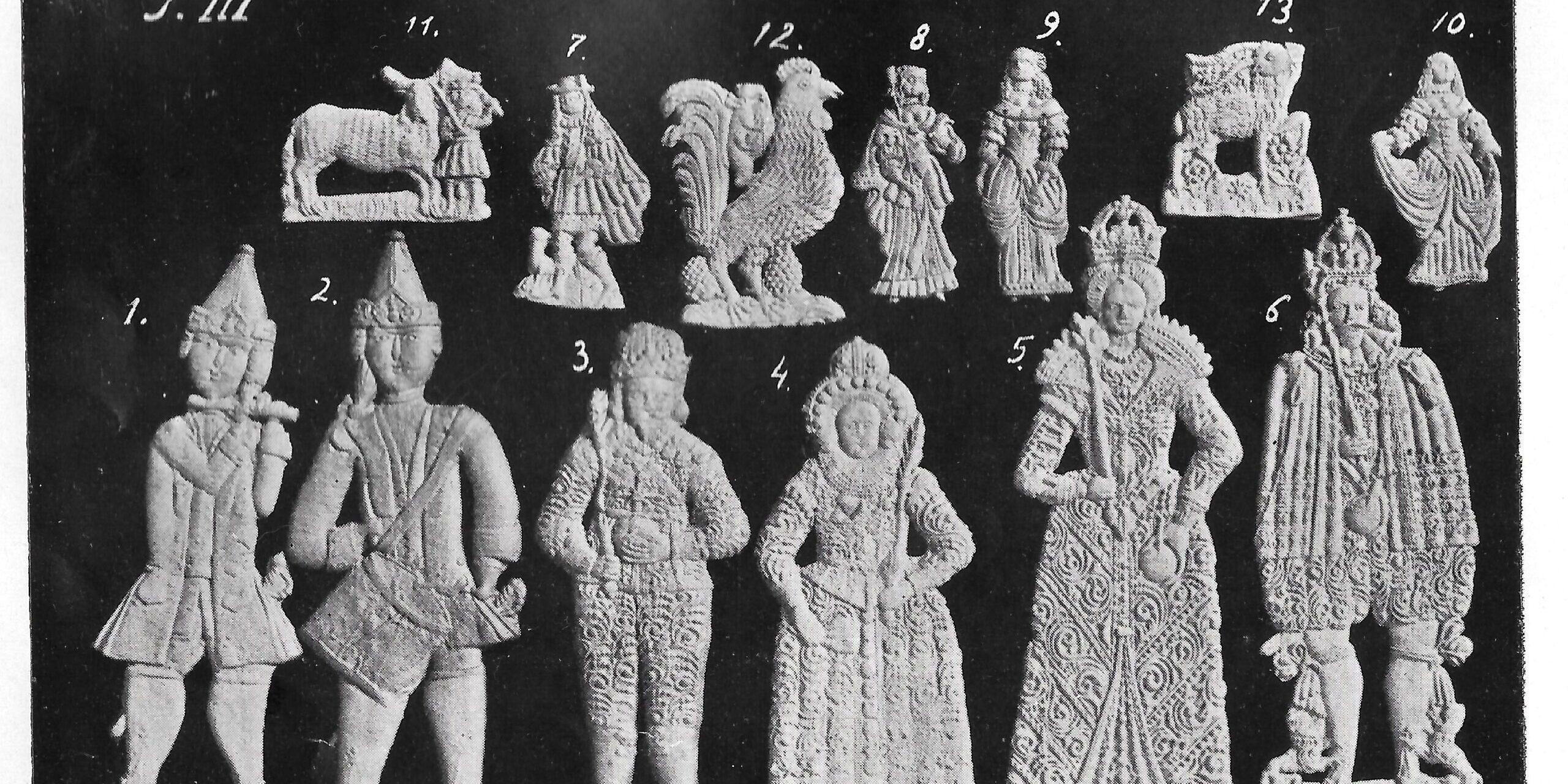 Badacze form piernikarskich z toruńskiego muzeum