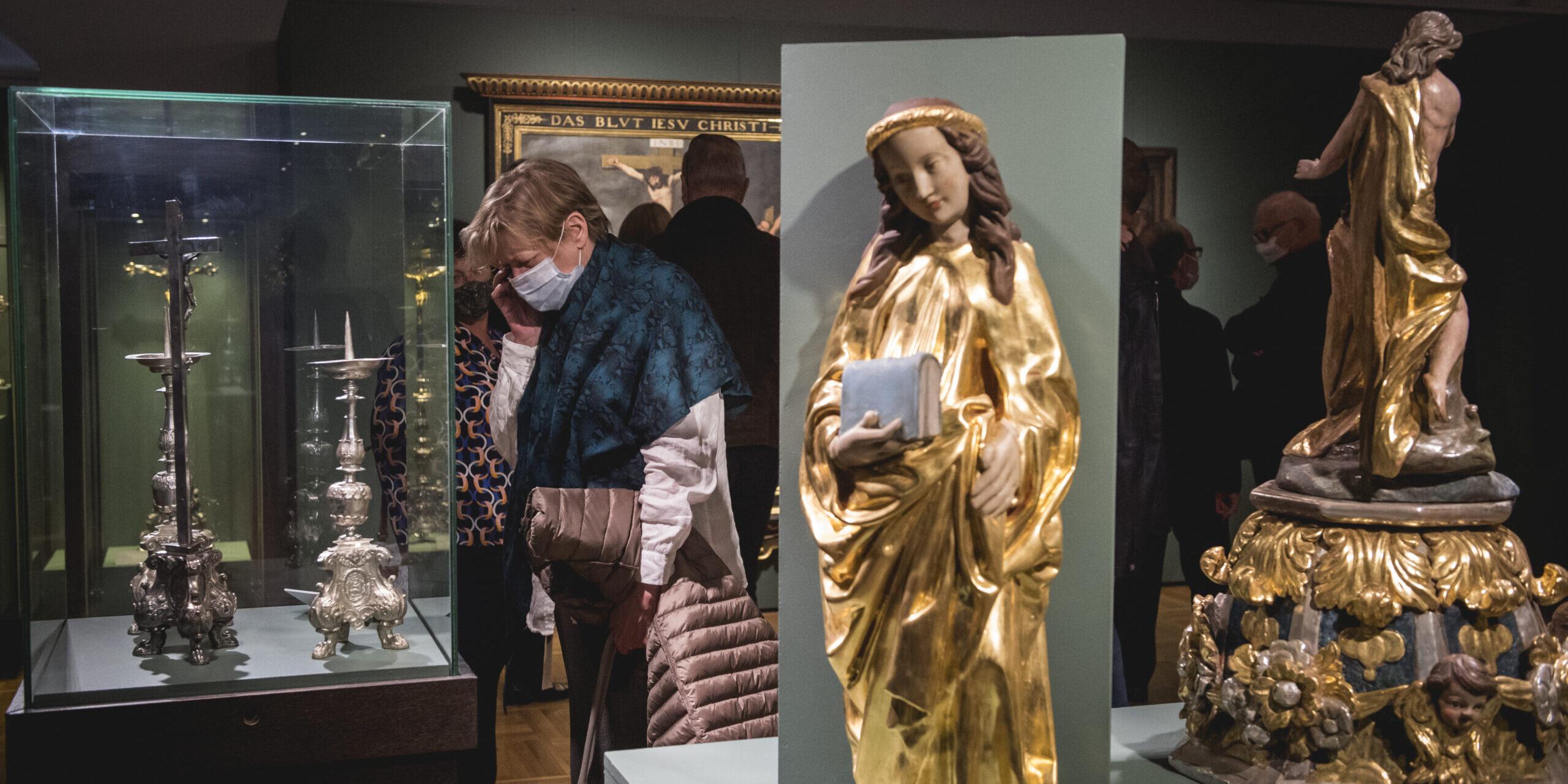 """Oprowadzanie po wystawie """"Królewskie miasto – trzy stulecia przemian kultury artystycznej Torunia (1454-1793). Wystawa na 160-lecie Muzeum Okręgowego"""""""