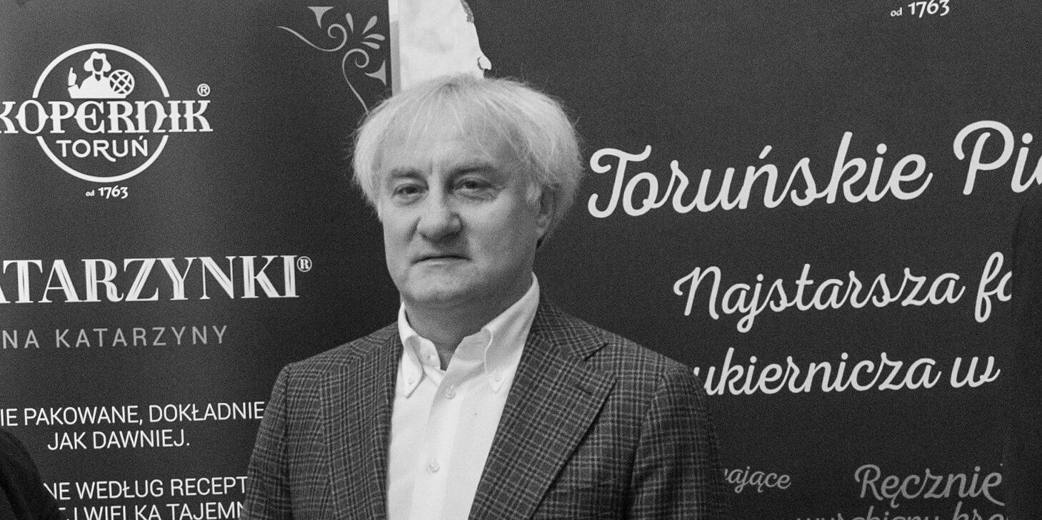 """Zmarł Przemysław Myśliwy – prezes Fabryki Cukierniczej """"Kopernik"""""""